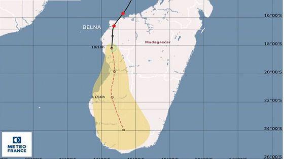 Madagascar : le cyclone Belna fait au moins 2 morts et 1 700 sinistrés