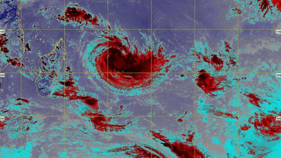 Rodrigues : le cyclone tropical Joaninha s'est légèrement intensifié
