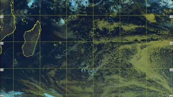 Météo : l'anticyclone au sud des Mascareignes s'affaiblit