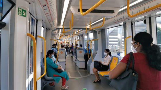 [En images] Déconfinement par phase : les trams de Metro Express Ltd de nouveau sur les rails ce vendredi