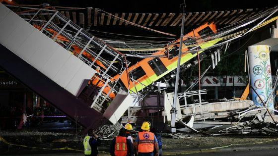 Effondrement d'un pont du métro aérien à Mexico : au moins 23 morts et 70 blessés
