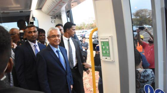Pétition électorale : «Je n'ai jamais été contre le projet métro», affirme Pravind Jugnauth