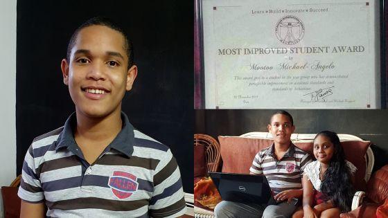Il envisage de finir ses études secondaires à 15 ans - Michael Angelo Mootoo, 13 ans : «Je ne suis pas différent, ce sont les autres qui le sont»