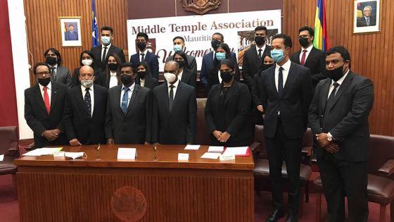 Middle Temple Association of Mauritius : 13 nouveaux membres obtiennent leurs certificats