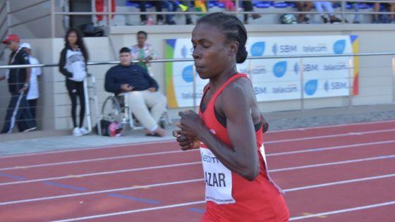 JIOI - Athlétisme : à 44 ans, Antoinette Milazar termine à la deuxième place du podium