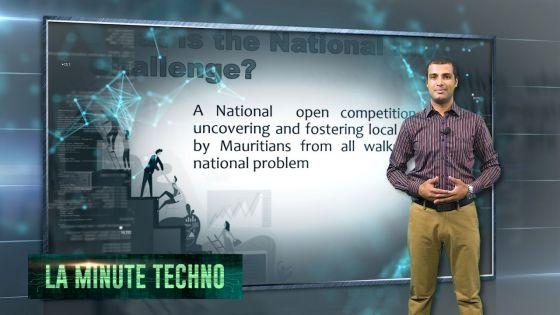La Minute Techno - Lancement du National Innovation Challenge