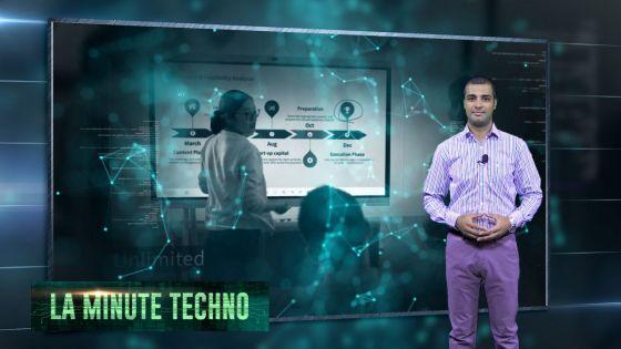 La Minute Techno - Un écran connecté pour les réunions et vidéoconférences