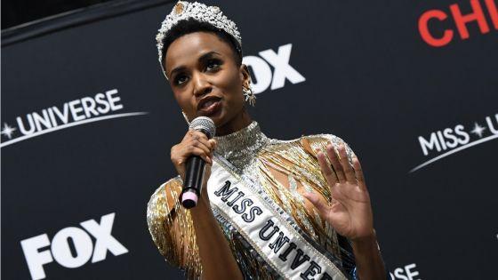 [Images] Miss Afrique du Sud couronnée Miss Univers 2019