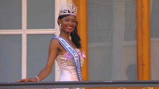 Quand la Miss World Mauritius brille en Chine