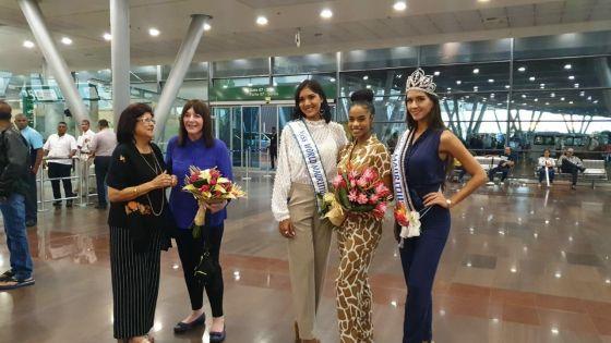 Miss World 2019, Toni-Ann Singh, est arrivée à Maurice