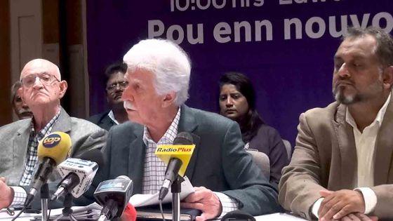 Paul Bérenger critique la gestion des inondations par le gouvernement