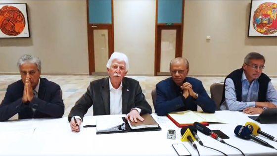 Gestion de la crise : Ramgoolam, Bérenger et Duval réclament unanimement la démission de Ramano et de Maudhoo