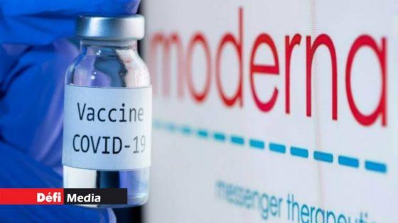 Vaccin anti-Covid : premiers résultats positifs pour les essais de Moderna sur une 3ème dose