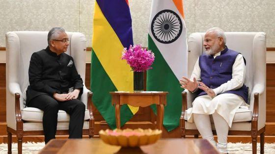 Rencontre Modi/Jugnauth : renforcement de la coopération entre Maurice et l'Inde