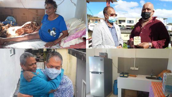 Nouvelle maison grâce à l'appel lancé dans le Defi Plus le 3 juillet - Monique Marie : «Mo pa ti krwar si mo pou ressi gagyn enn lakaz koumsa»