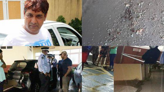Touché par balle, Manan Fakoo est hors de danger