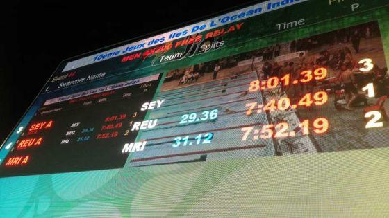 JIOI - Natation : Maurice décroche l'argent en relais 4 x 200 m nage libre