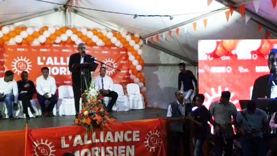 La Source, Quatre-Bornes : suivez en direct le congrès de l'Alliance Morisien