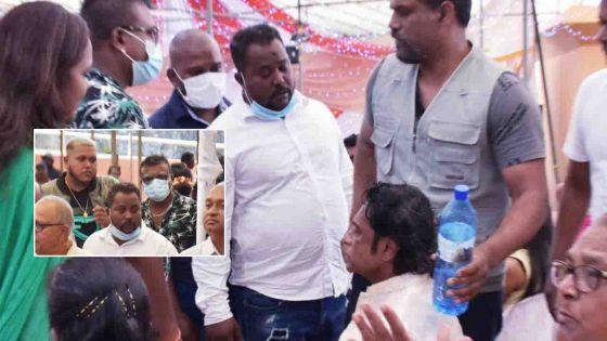 Grand-Bassin : quatre hommes qualifient Bodha de «traître» et lui demandent de partir