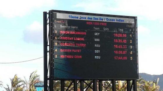 JIOI - Natation : nouvelle médaille d'argent pour Maurice sur 1500 m nage libre