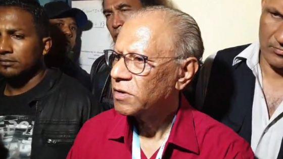 Navin Ramgoolam battu au no 10 : «Je félicite le gouvernement, mais il y a eu beaucoup d'irrégularités»