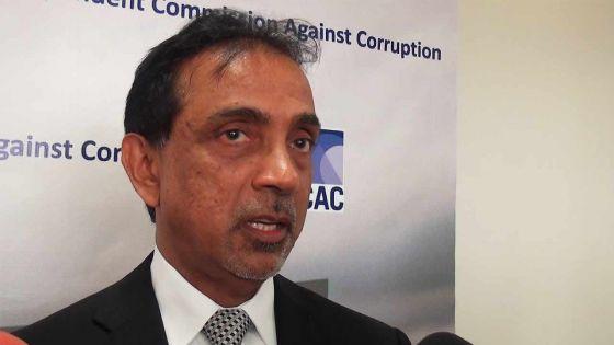 Comité parlementaire de l'Icac : Navin Beekharry interrogé sur la rénovation de son bureau