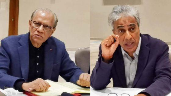 «Incompétence impensable ; Ramano et Maudhoo doivent démissionner», dit Ramgoolam