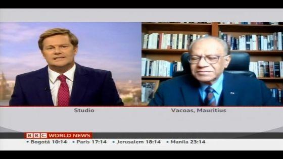Wakashio : Ramgoolam sur BBC dénonce «l'incompétence et l'insouciance» du GM