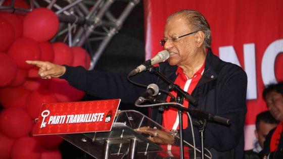Congrès du PTr aux Salines - Ramgoolam : «Bandit ou pas, je serai réélu !»