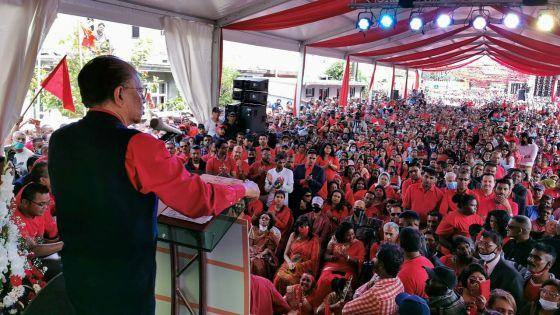 Kewal Nagar : sur un air de campagne électorale, Ramgoolam dévoile ses promesses