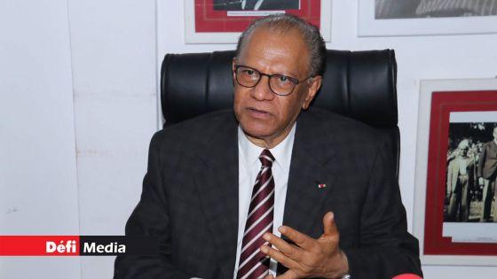 Budget 2021-2022 : Ramgoolam accuse Renganaden Padayachy d'avoir recopié les mots des anciens ministres des Finances