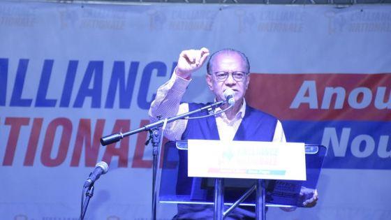 «Le MSM et le MMM ont fait un arrangement», affirme Navin Ramgoolam