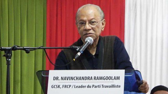 Cérémonie de remise de prix : Ramgoolam accuse le GM de tenir des réunions «communales»
