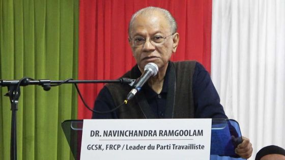 Navin Ramgoolam: «Ziska Jeux des Iles zot pe politiser »