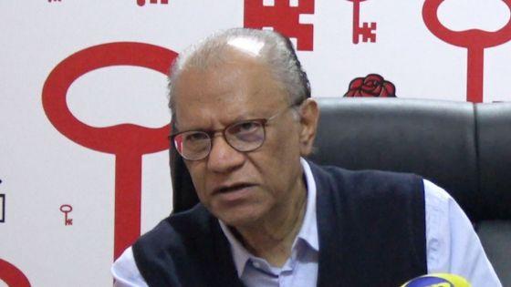 Ramgoolam : «Mo lider Parti Travayis, j'y suis, j'y reste»