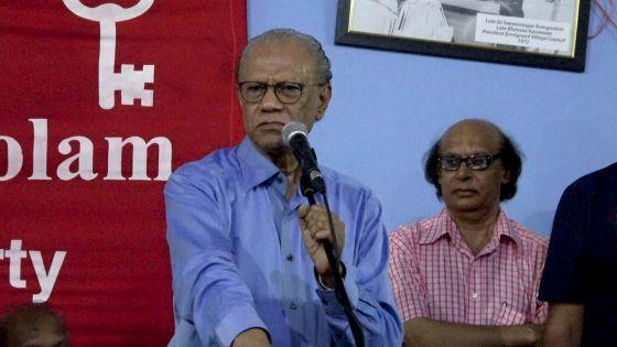 Ramgoolam affirme que Bérenger deviendra le «king maker» et réclamera un «partage de pouvoir» si l'électorat «vote koupe transe»