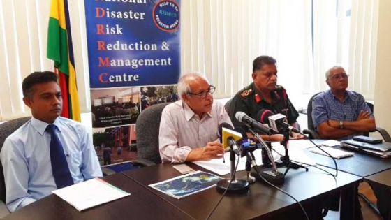 National Disaster Committee : suivez la conférence de presse