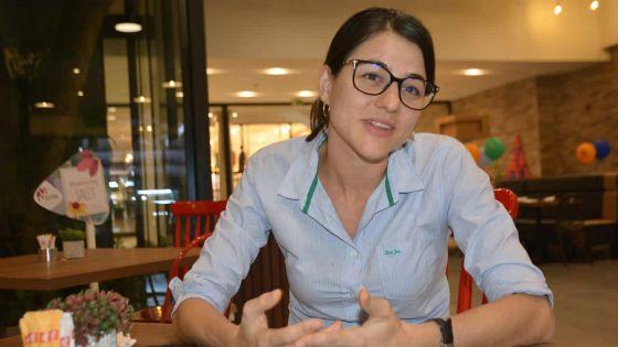 Joanna Bérenger candidate en pleine grossesse