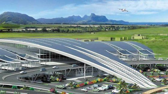 Aéroport SSR : l'assemblage d'une nouvelle tour de contrôle débute bientôt