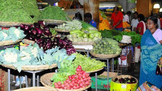 Légumes, gingembre, viande et fruits plus chers