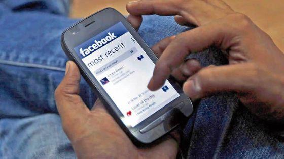 Sur le réseau social Facebook : on annonce le décès de son fils