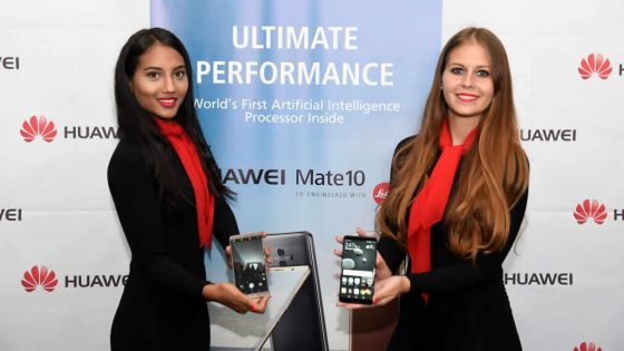 Smartphone : le Huawei Mate 10 disponible à Maurice