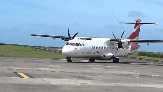 Joaninha – vols annulés à Rodrigues