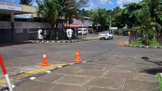 À Fond-du-Sac : accident entre un véhicule de la police et un retraité