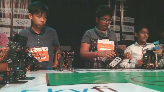 Semaine de la robotique : les gagnants séduisent