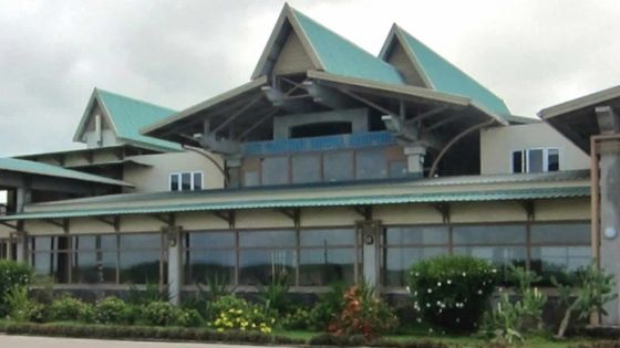Classe 3 à Rodrigues : le port et l'aéroport fermés