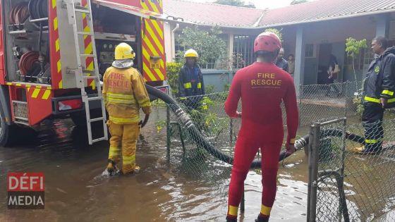 Fortes intempéries : Les services de secours prêts à intervenir