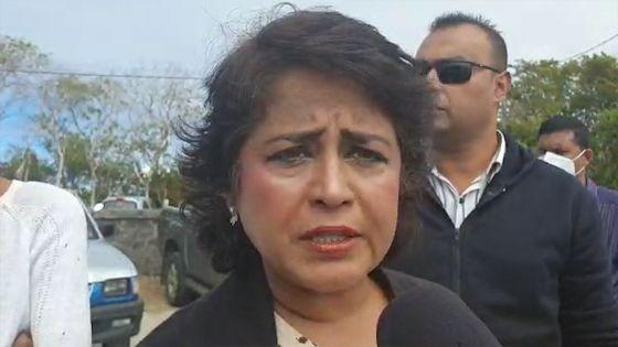 Fuite d'huile du MV Wakashio :  «La moindre des choses était d'évacuer le fioul», dit  Ameenah Gurib-Fakim