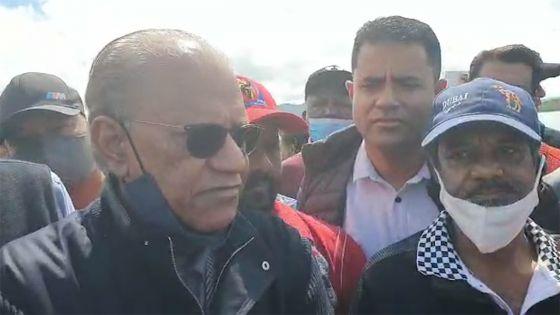 Fuite d'huile : «Un désastre total causé l'amateurisme du gouvernement», dit Ramgoolam