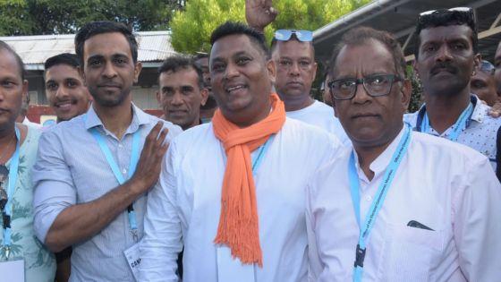 Circonscription no 10 : «Si la tendance se confirme li pou enn 3-0», dit Sunil Bholah de l'Alliance Morisien